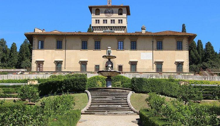 Apertura Villa della  Petraia