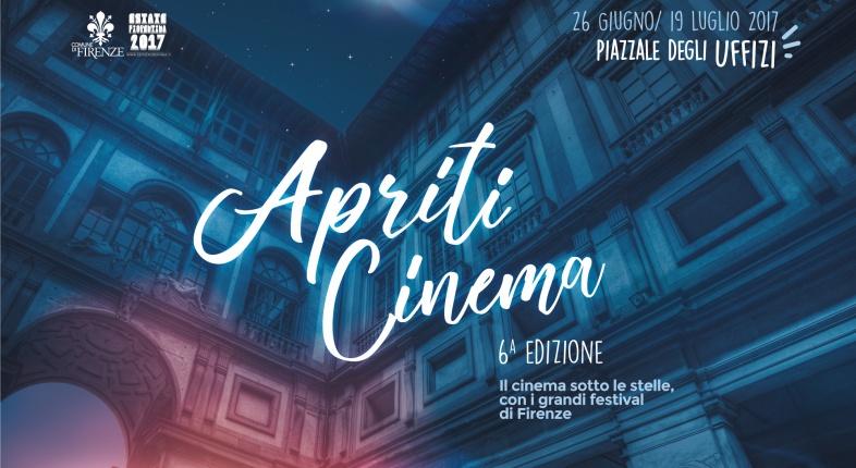 APRITI CINEMA 2017! VI ASPETTA NEL PIAZZALE DEGLI UFFIZI