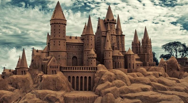 Castelli di sabbia a ferragosto