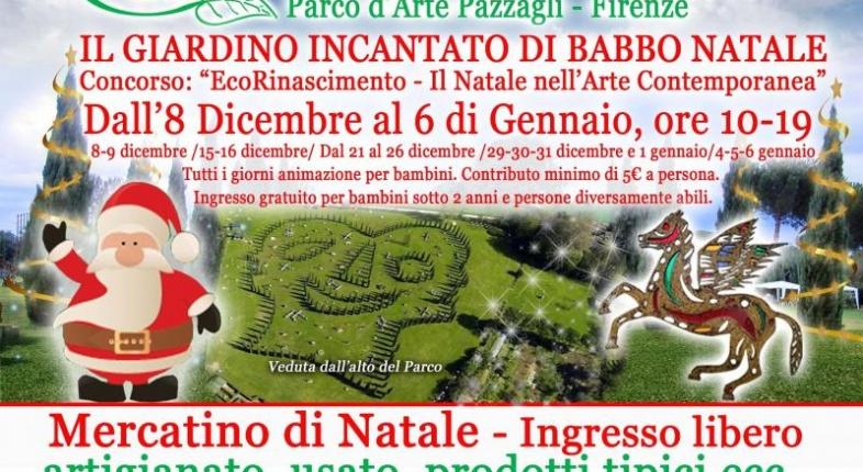 Giardino incantato di Babbo Natale a Firenze