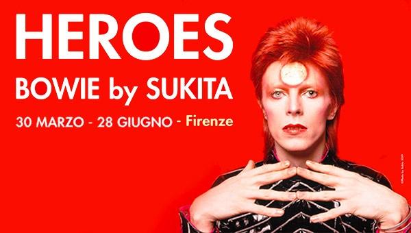 Heroes - David Bowie by Sukita