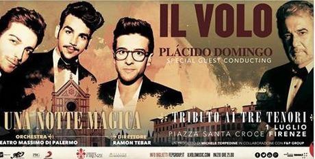 Il Volo&Placido Domingo a Firenze