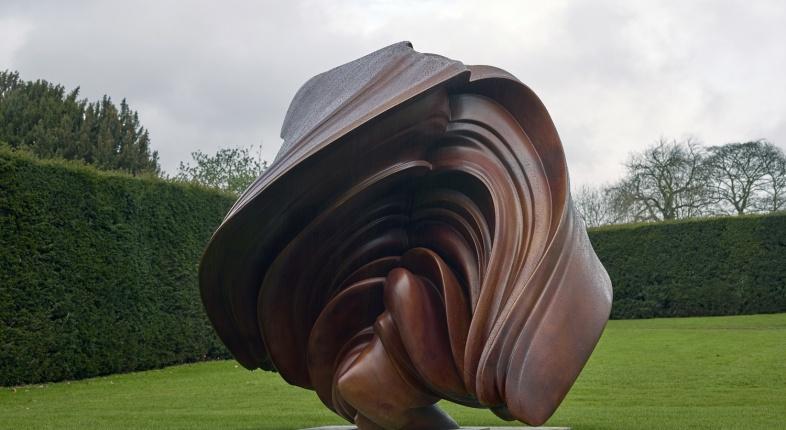 Mostra di Tony Cragg al giardino di Boboli