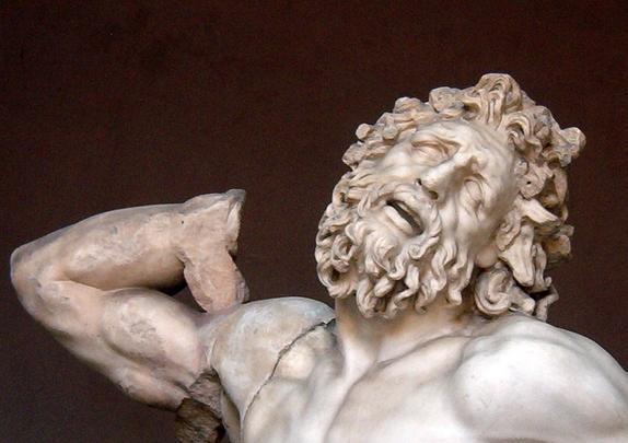 Gruppo marmoreo del Laocoonte